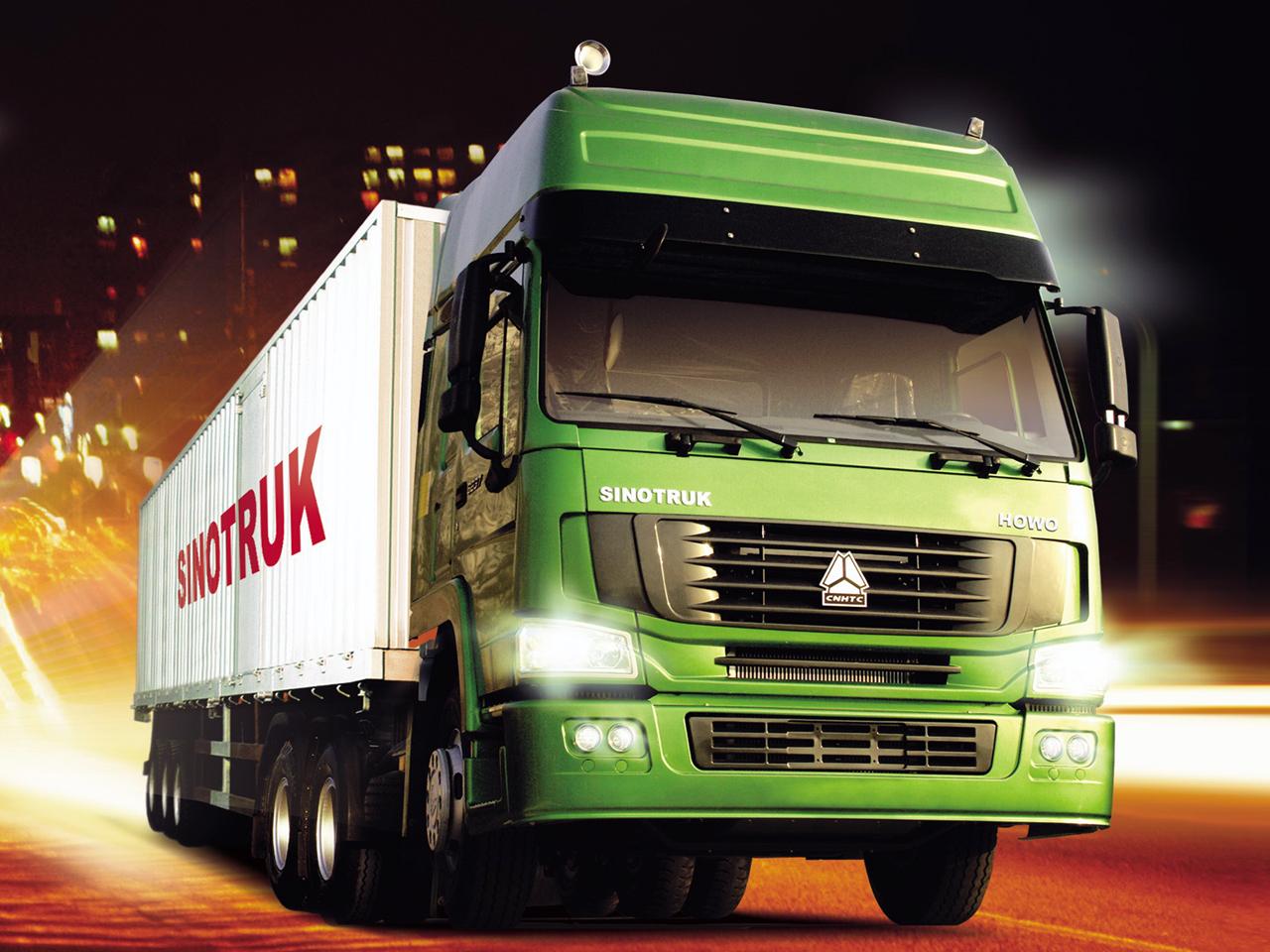 Сегмент тяжелых грузовиков компании SINOTRUK